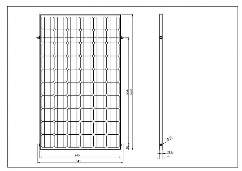 pvt module hybride 250 wp panneau photovolta que et capteur solaire producteur de modules. Black Bedroom Furniture Sets. Home Design Ideas
