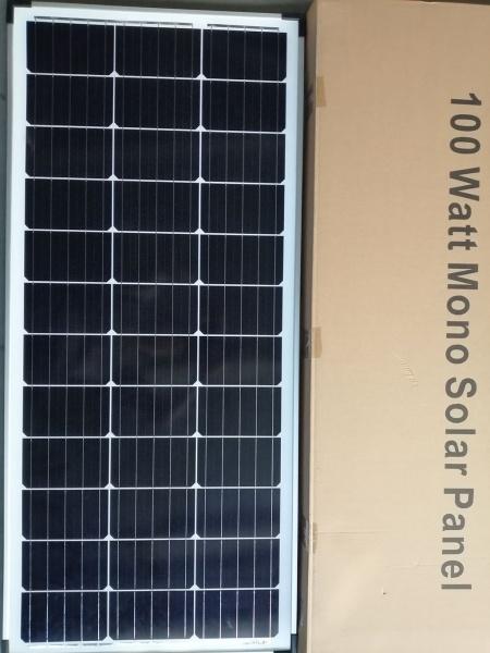 Монокристален фотоволтаичен модул 100 Wp