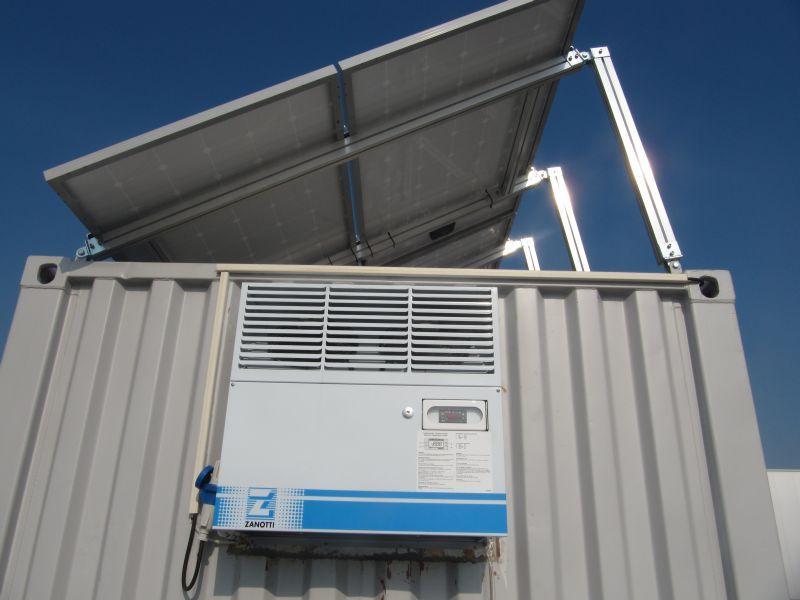 Галерия фотоволтаичен хладилен склад 4