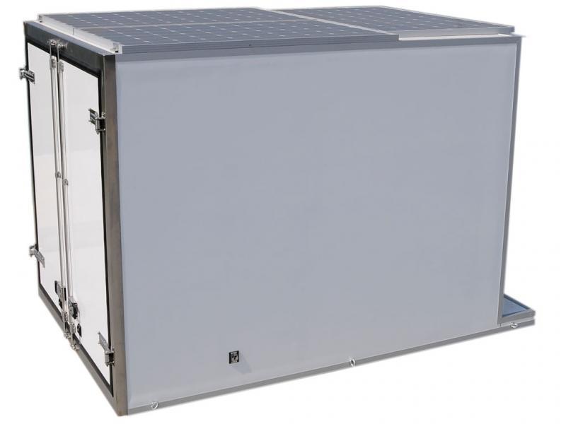 Фотоволтаична хладилна камера 8m³