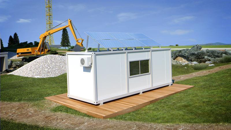 Фотоволтаична система за строителен контейнер 12/24 V DC 4