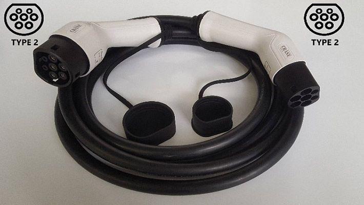 Заряден Кабел Type 2