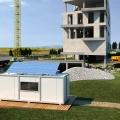 Фотоволтаична система за строителен контейнер 220 V AC 3
