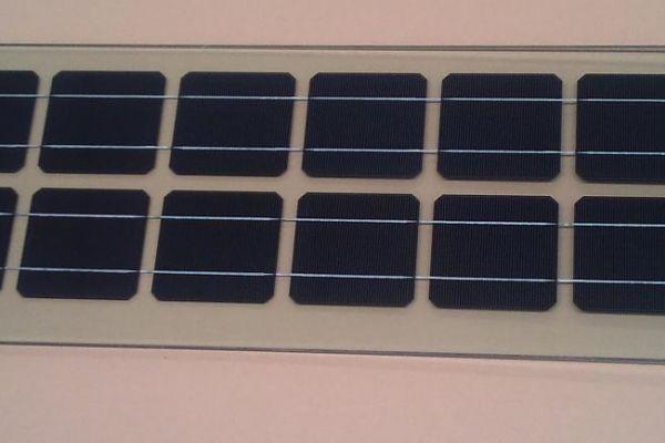 Нестандартен соларен модул