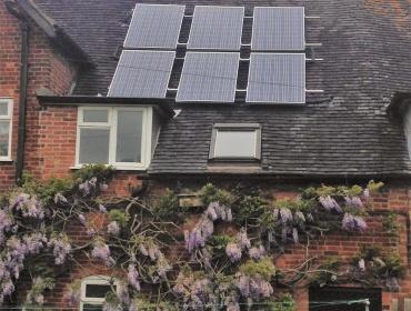 Solar Home Farm, withybrook, Warwickshire, UK
