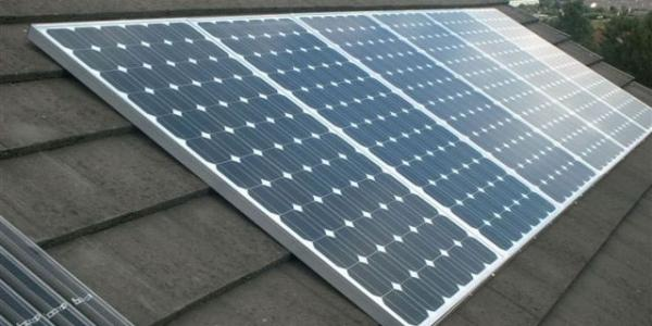 Photovoltaic systems for houses