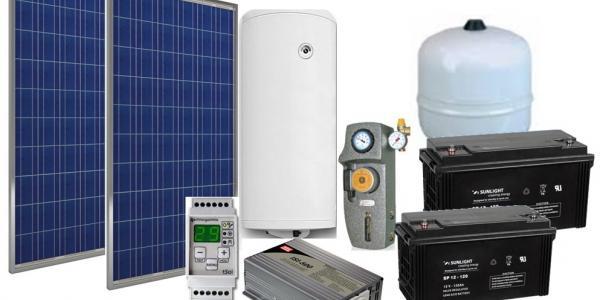 Автономни соларни системи за топла вода