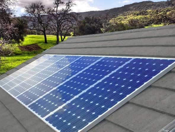 фотоволтаични модули за покриви, модули за ток