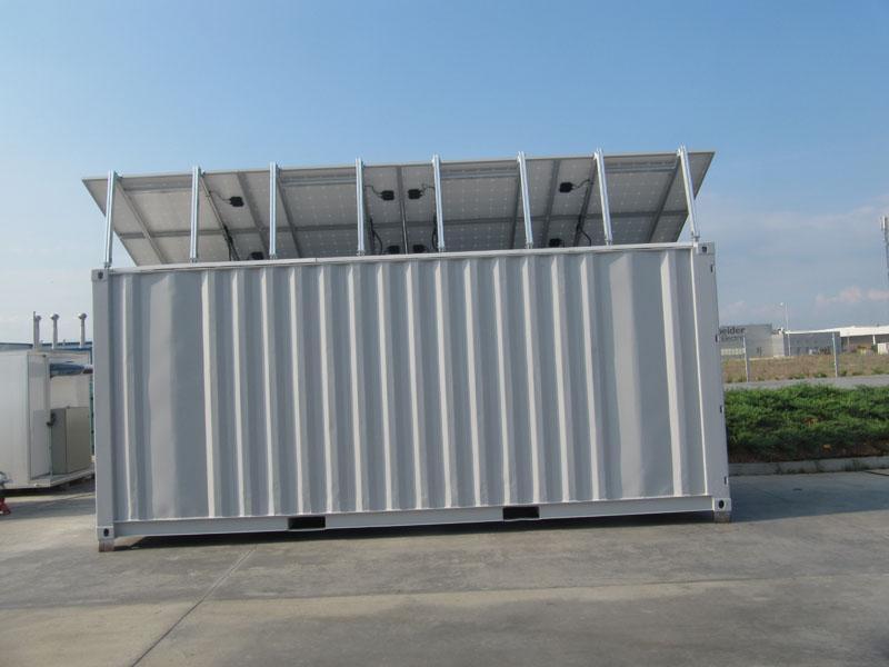 Галерия фотоволтаичен хладилен склад 2