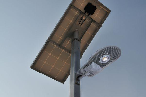 LED solar lamp GRANADA