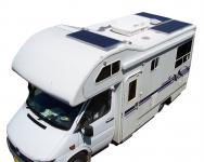 Photovoltaic system for campers and caravans